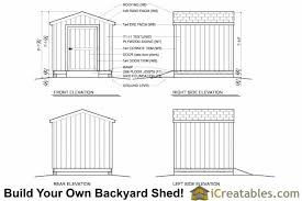 8x8 shed plans materials list shed plans gambrel