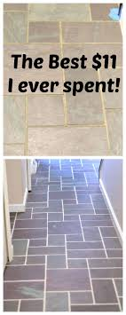 slate floor grout renew create and babble