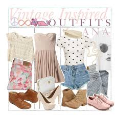 Hey Heres A Few Girly Classy Vintage Inspired Outfits I Hope You