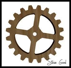 Free Scroll Saw Wooden Gear Clock Plans by Scrollsaw Workshop Adrian Iredale Wooden Gear Clock Maker