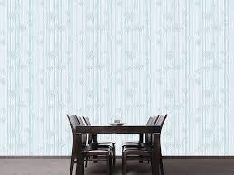 designmuster tapete bamboolino blau