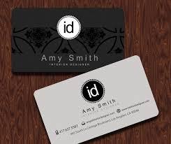 100 Popular Interior Designer Business Card Custom Printable Design