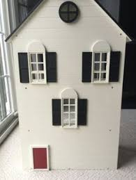 Pottery Barn Westport Dollhouse Townhouse W Furniture HTF Retired