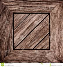 Old Wood Box Top View Texture Royalty Free Stock Image