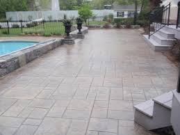 Stamped Concrete Patio Costs : Best Stamped Concrete Patio Ideas ... Stone Texture Stamped Concrete Patio Poured Stamped Concrete Patio Coming Off Of A Simple Deck Just Needs Fresh Finest Cost Of A Stained 4952 Best In Style Driveway Driveways And Patios Amazing Walmart Fniture With To Pour Backyards Cement Backyard Ideas Pictures Pergola Awesome Old Home Design And Beauteous Dawndalto Decor Different Outstanding Polished Designs For Wm Pics On Mesmerizing