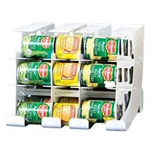 Amazon FIFO Can Tracker Food Storage Canned Foods Organizer