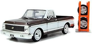 Generic Jada 1972 Chevrolet Cheyenne Pickup Truck Brown \Just Trucks ...