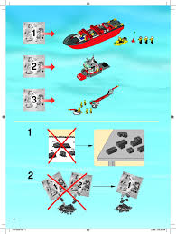 Lego Ship Sinking 2 by Lego Fire Boat Instructions 7207 City