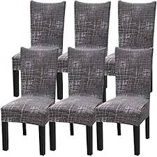 beige jacquard esszimmer hussen stuhl protector für home