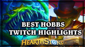 Alarm O Bot Deck Lich King by Hearthstone Best Of Hobbs Twitch Highlights Knights Of The