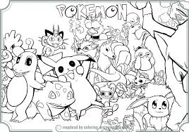 Trends Book All Pokemon Coloring Pages New At