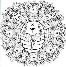 Coloring Pages Kawaii Book Free To Print