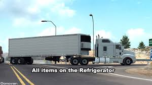 All Items On The Refrigerator » American Truck Simulator Mods | ATS ... White Bonnet American Big Rig Semi Truck With Reefer Trailer Carrier Cporation Refrigeration Fan Refrigerated Container Reigatorfreezer Lievaart Trucks Bv Semitrailer Refrigerator Chereau Augustin Network For Euro Middle Size Unit On Refrigerator 23 Appealing Goes Refigerator Ideas A Carrying Perishable Products Red Stock Photo Royalty Free Howo Light Truck Freezer Van Box Meat And Selfdriving Are Now Running Between Texas California Wired Buying A New Page 3 Truckersreportcom Trucking Small Refrigerators Youtube