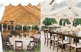Wedding Decoration Ideas For Outside Weddings Stunning Rustic Tent