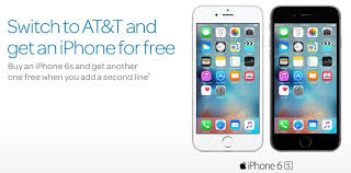 Free iPhone 6s from AT&T WalletHero