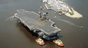 plus gros porte avion du monde l us navy se déploieautour de l amérique latine