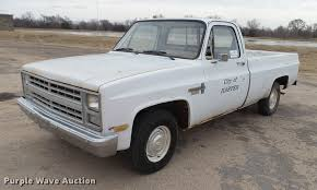 100 1987 Chevrolet Truck Custom Deluxe 10 Pickup Truck Item DC4246