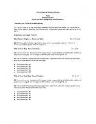 Resume Address Format Great Examples Resumes Social Worker Nursing Home Wk I37894