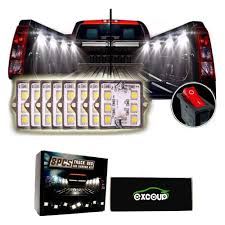 Amazon.com: LED Lights For Truck Bed LED Lighting Kit Pickup Bed ... Truck Bed Lighting Kit 8 Modules Free Installation Accsories Cheap System Find Opt7 Aura 8pc Led Sound Activated Multi Lumen Trbpodblk 8pod Lights Ford F150 Where To Buy 12v White Light Strips For Cars Led Light Deals On Line At Aura Pod Multicolor With Remotes 042014 Rear Tailgate Emblem 2 Tow Hitch Cover White For Chevy Dodge Gmc Ledglow Installation Video Youtube 8pcs Rock Under Body Rgb Control
