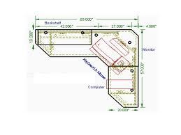 l shaped computer desk plans corner desk woodworking plans find an