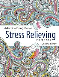Amazon Adult Coloring Book Stress Relieving Patterns Volume 5 9781515331896 Cherina Kohey Books