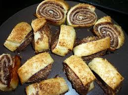 petits roulés nutella noix de coco chez ale