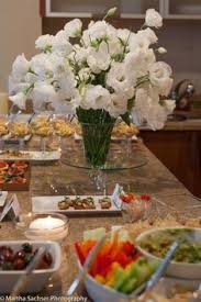 Jenss Decor And Catering by White Lisianthus Wedding Flowers At Vineland Estates Winery