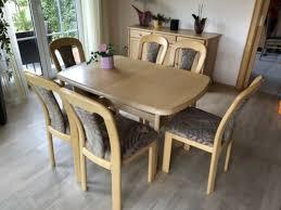 massivholz esszimmer möbel tisch sideboard stühle