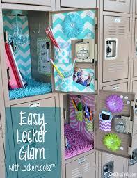Locker Decorations At Walmart by Easy Locker Glam For Tweens With Lockerlookz Have Your Locker All
