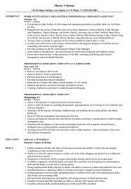 Professional Research Assistant Resume Samples | Velvet Jobs Resume For Research Assistant Sample Rumes Interns For Entry Level Clinical Associate Undergraduate Assistant Example Executive Administrative Labatory Technician Free Lab Examples By Real People Market Objective New Teacher Aide No Experience Elegant Luxury Psychology Atclgrain Biology Ixiplay