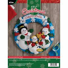 Bucilla Seasonal Felt Home Decor DoorWall Hanging Kits