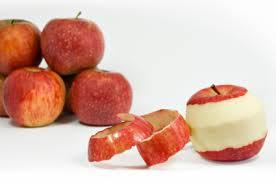 Fun Apple Peel Snack Recipe Todays Work at Home Mom