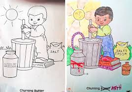 Coloring Book Corruptions See What Happens When Adults Do Books