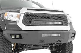 100 Toyota Truck Bumpers HeavyDuty Front LED Bumper For 1419 Tundra 10777 Rough