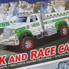 2011 Hess Toy Truck And Race Car In Box And 50 Similar Items
