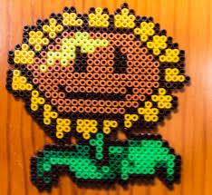 girasol hamma beads plants vs zombies plantas contra zombies