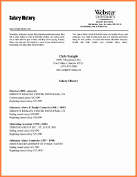 Salary History Resume 10 How To Submit Salary History 49 Reference How To Add Salary History Cover Letter All About Write A New Make Fancy Letters 2018 Resume Examples With Requirements Inspiring How Add Salary History Cover Letter Tacusotechco Sample Format With In Example Bad English 33 Grammar Lessons Help Students Better Fresh Easy Inspirational Samples