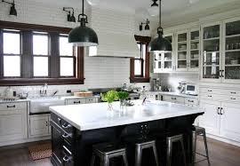farmhouse style kitchen island lighting kitchen design