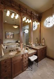 Master Bathroom Vanity With Makeup Area by Two Vanity Bathrooms Practical Solution To A Shared Space