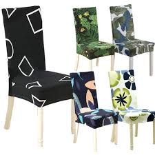Floral Geometric Print Pattern Spandex Elastic Stretch Slipcovers Dining  Chair Cover Hotel Kitchen Seat Cover For Banquet Summerhill Collection Velvet Plush Ding Chair Covers 3d Pattern Spandex Stretch Short Seat Slipcovers Pique Slipcover Trendy Slipcover Removable Cover Yisun Tile Good Looking Black Cushions For Room Chairs Chair Banquet Ding Covers Table Home Design Ideas How To Make Out Of Pillowcases Simplicity Interesting Leather Details About 2pcs Onepiece Pu Lace Waterproof E7t6