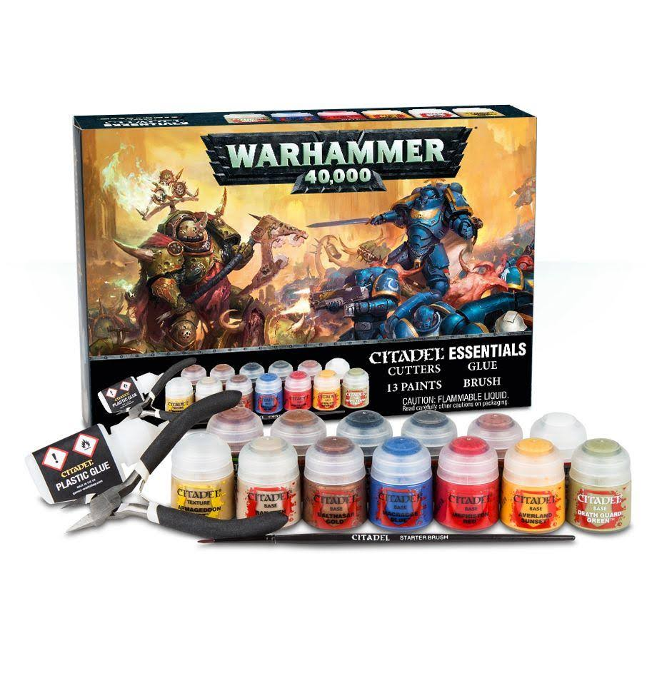Games Workshop Warhammer 40000 Citadel Essentials Set