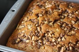 Chocolate Chip Zucchini Cake with Can d Walnuts