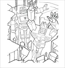 Free Transformers Coloring Pages Print Color Printable Grimlock Pdf Full Size