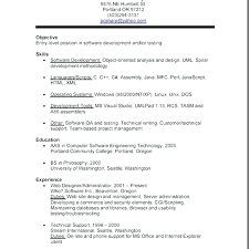 Resume Objective Examples For Part Time Jobs Packed With Resume For