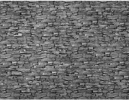 runa fototapete steinwand 3d effekt modern vlies wohnzimmer schlafzimmer flur made in germany grau 9086010c