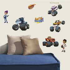100 Monster Truck Bedroom Buy 28 BLAZE AND THE MONSTER MACHINES WALL DECALS S Stickers