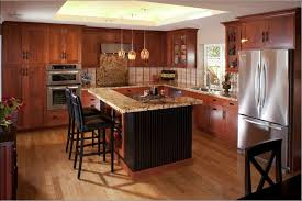Sink Faucet Island Backsplash Cut Tile Ebony Wood Cordovan Large Size Of Oak Kitchen Cabinets Cabinet Types And Costs Maple