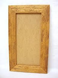 cadre en bois sans verre style ancien avec moulure miel grand