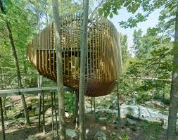 100 Tree House Studio Wood Slender Pine Slats Wrap Evans In Arkansas By