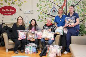 100 Sheppard Trucking DSS Services Ltd Gifts Busy Bags To Paediatrics BCHS